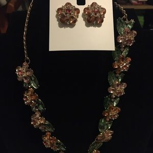 Brand New Necklace and pair of matching earrings